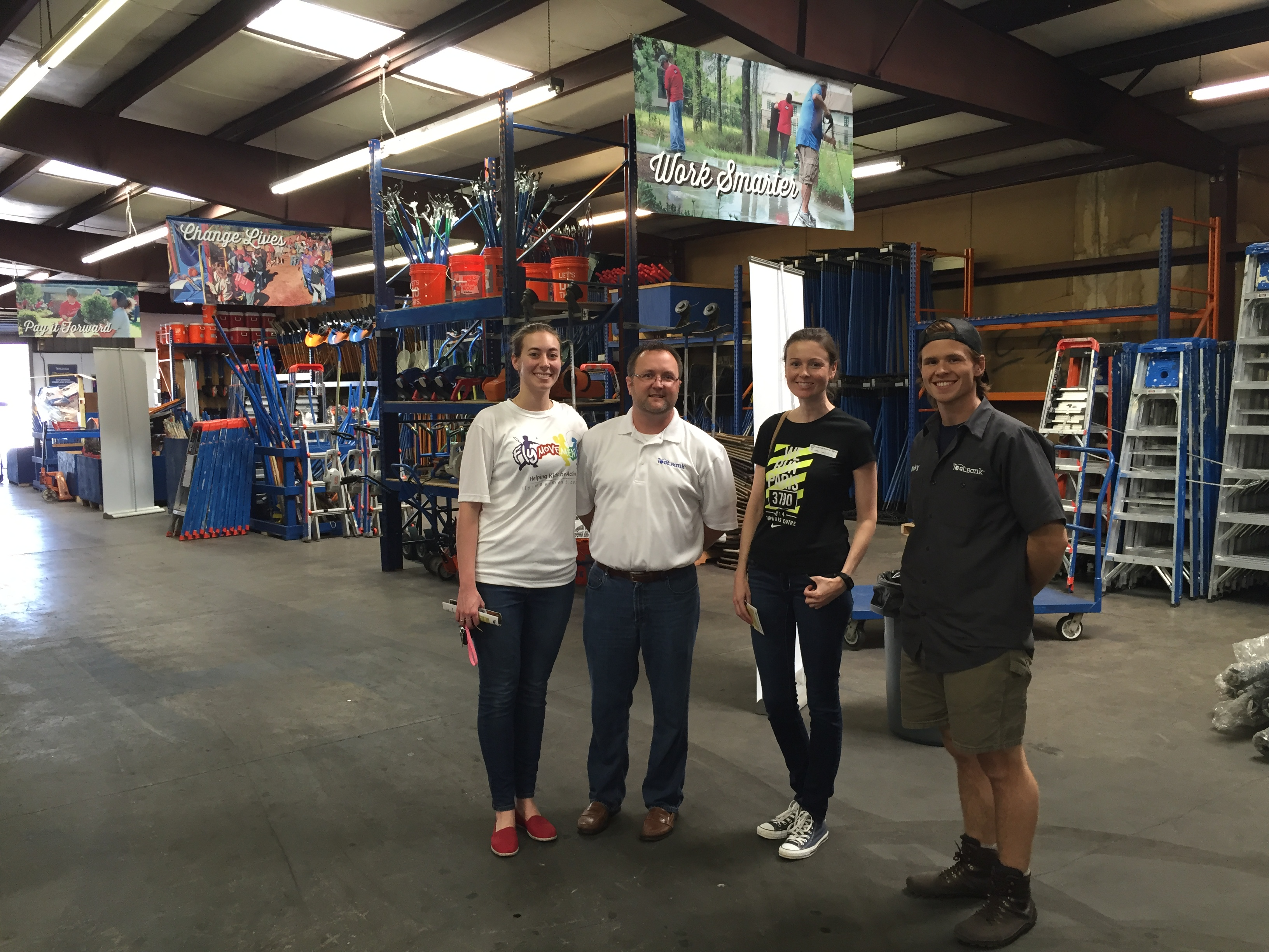 Houston tool bank, toolbank, tools for nonprofits
