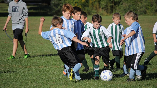 Kids Playing Soccer - How to Get Your Kids Moving in Houston Texas - Fly Movement
