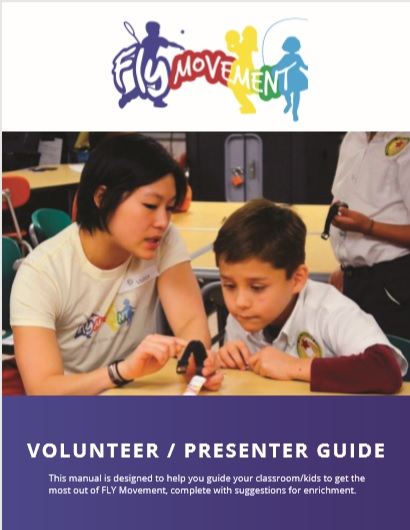 kids fitness volunteer guide, kids health volunteer manual