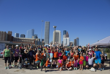 May Houston Free Family Fun Run Recap